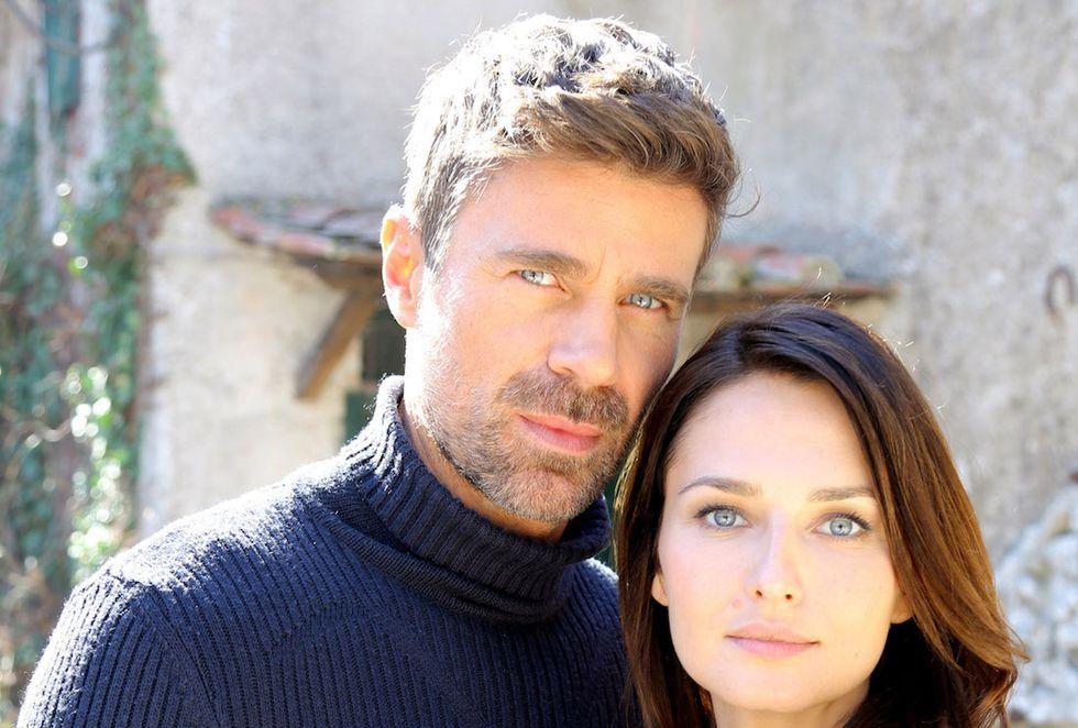 Le tre Rose di Eva 4 Anna Safroncik (Aurora Taviani) e Fabio Fulco (Fabio Astori) (3)