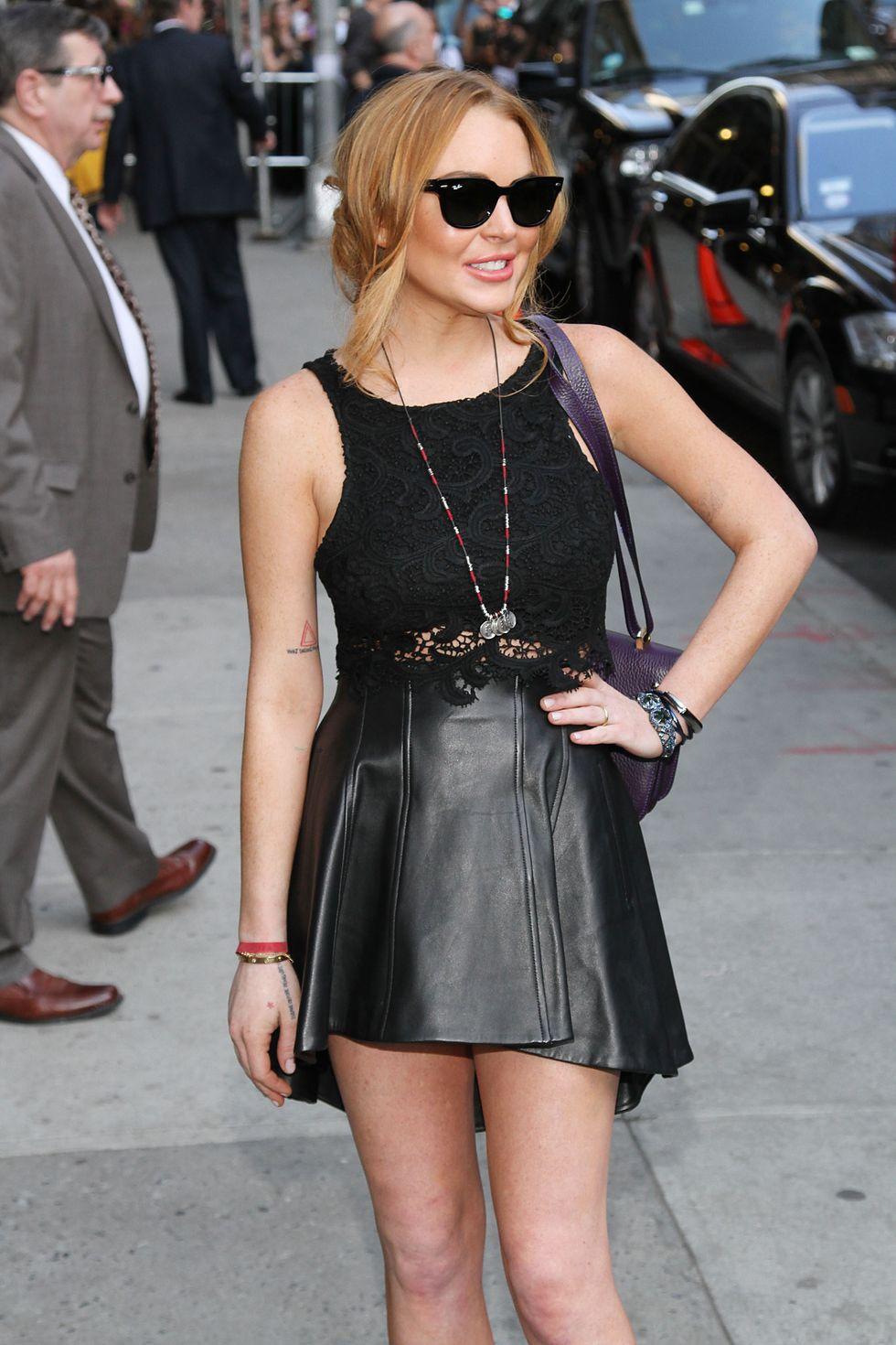 Lindsay Lohan fuori dal rehab si prepara al salotto di Oprah