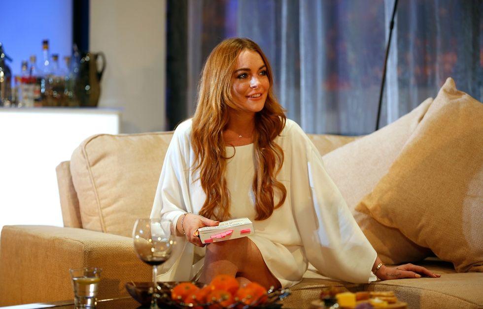 Lindsay Lohan testimonial di un'assicurazione auto