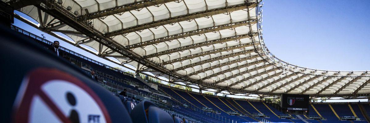 europeo 2020 2021 olimpico roma stadio capienza pubblico presenza uefa figc draghi