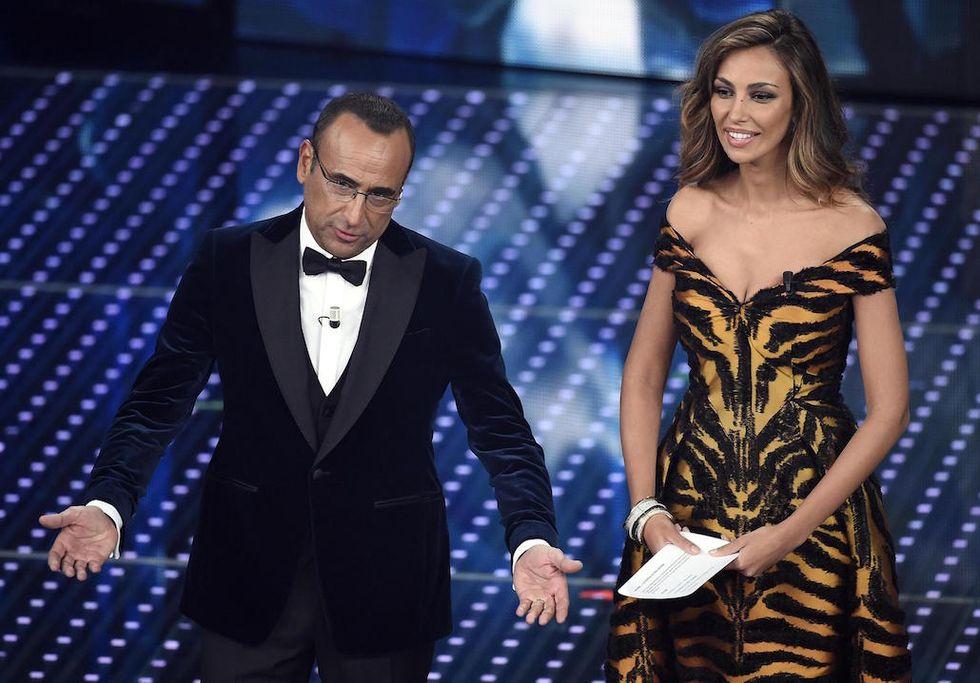 Sanremo 2016 Madalina Ghenea