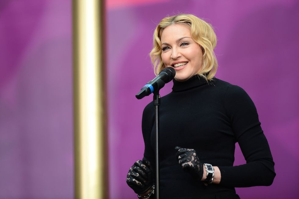 "Madonna ""rimbalzata"" a Londra"