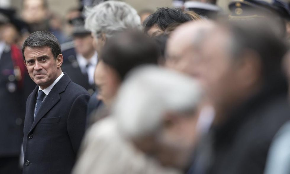 Manuel Valls, socialisti francia