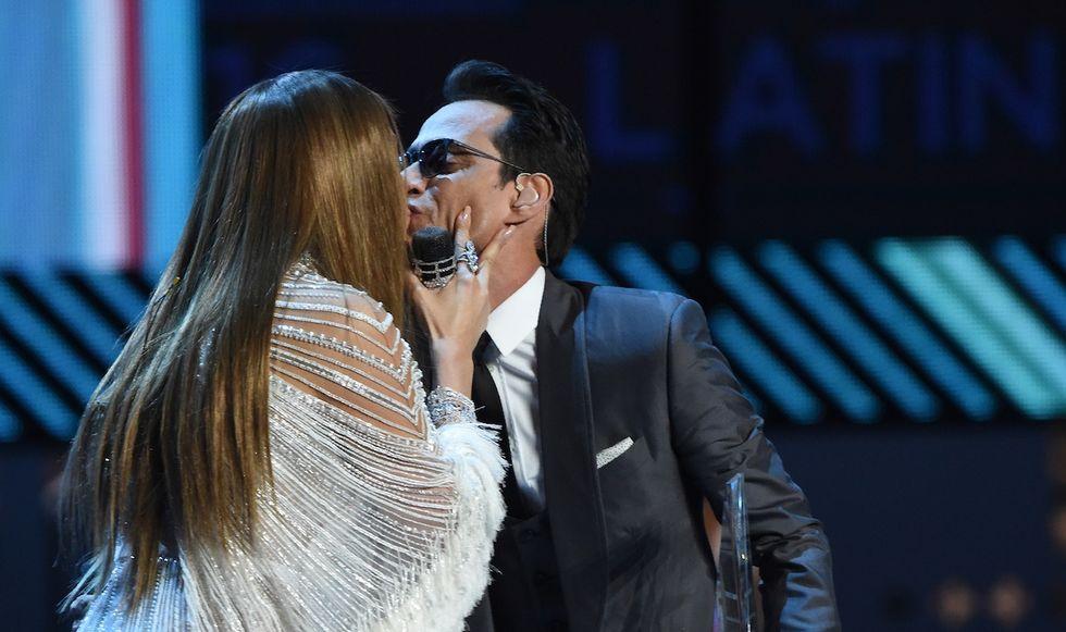 Marc Anthony e Jennifer Lopez ai Latin Grammy's awards