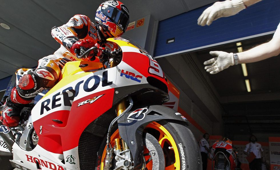 MotoGp. Gp Spagna: poker Marquez, Rossi secondo