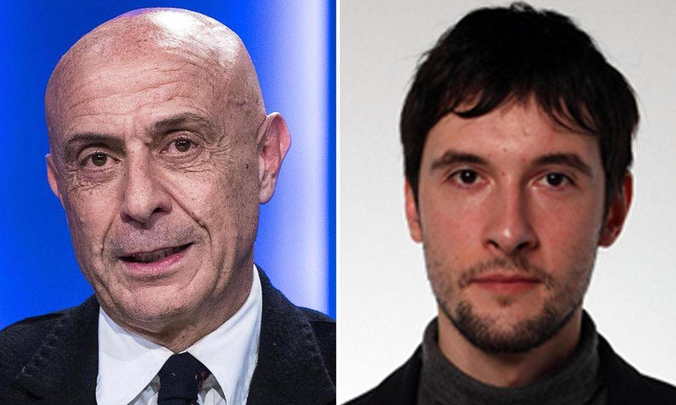 Marco Minniti e Andrea Cecconi