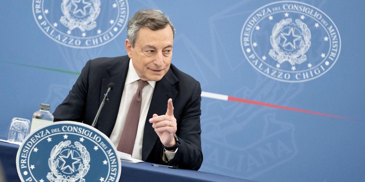 Mario Draghi: killer di partiti