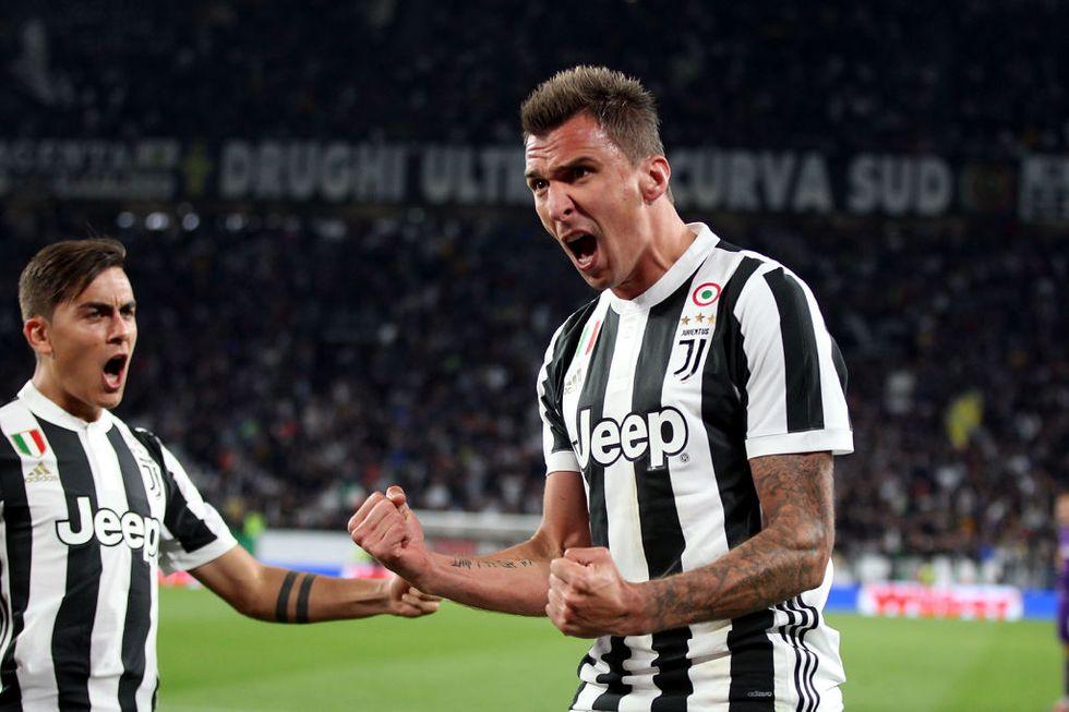 Mario Mandzukic Juventus calcio