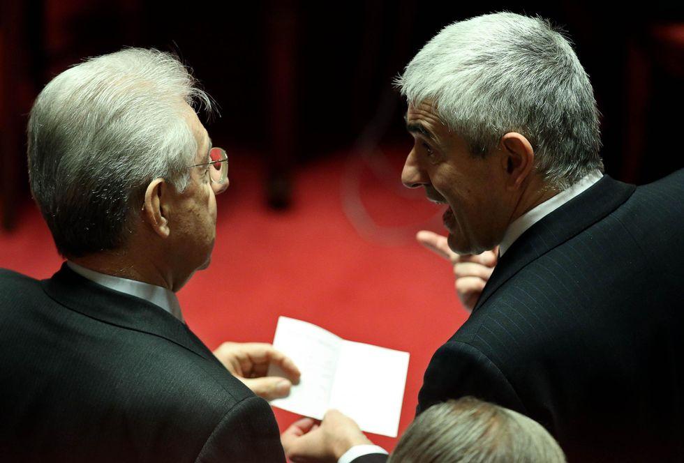 Monti-Casini: alleanza in bilico
