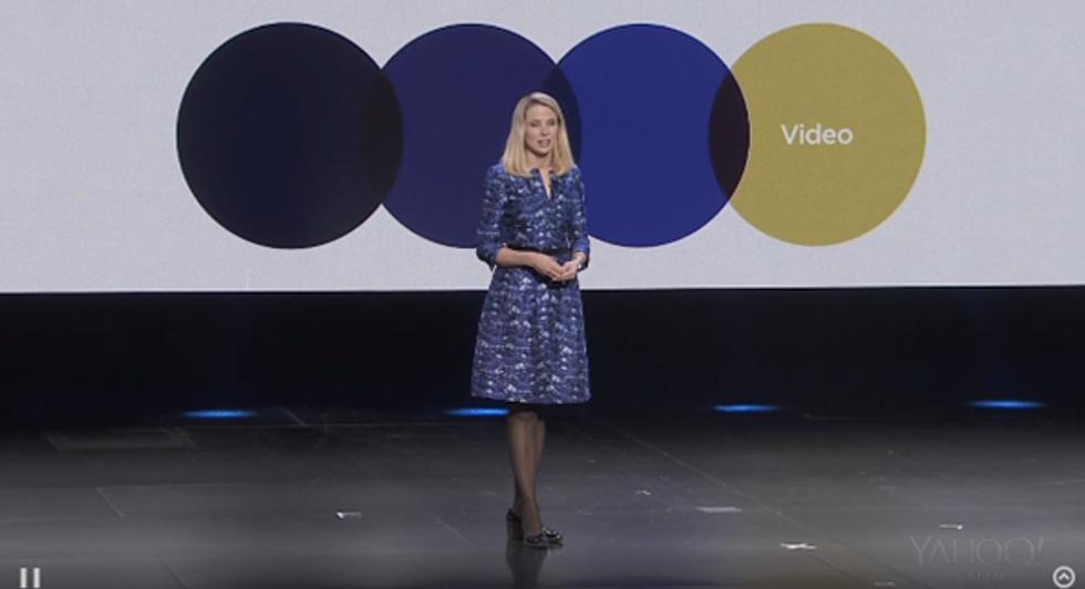 Ces 2014, Marissa Mayer mostra i muscoli: Yahoo! ora fa paura