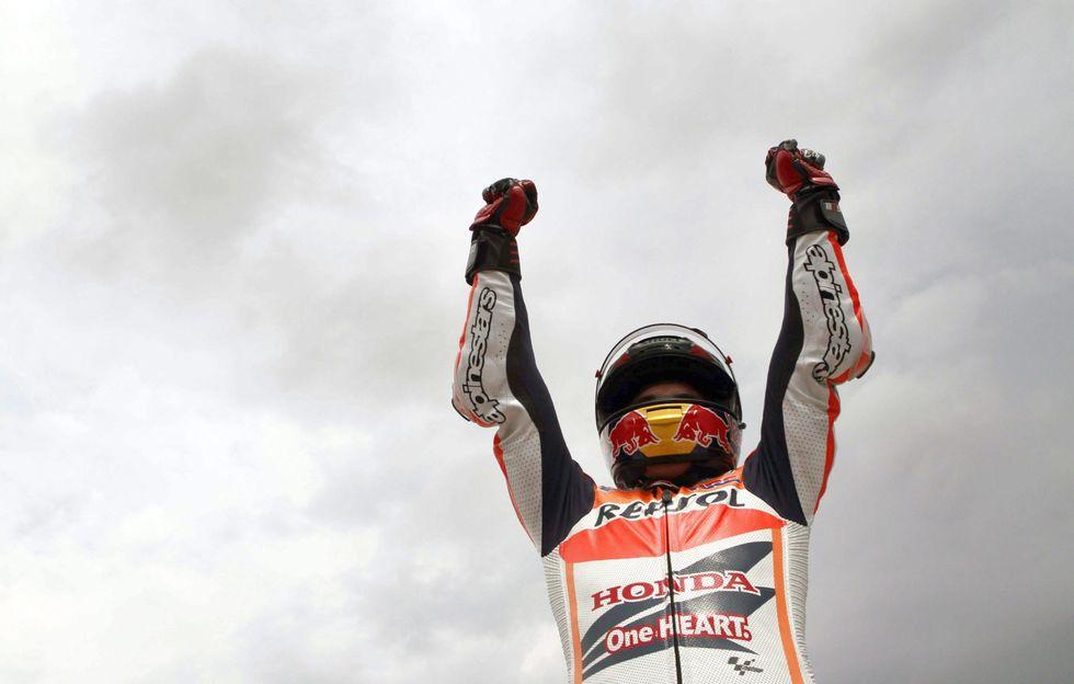 MotoGp, Gp Olanda: ottavo centro Marquez, Rossi 5°