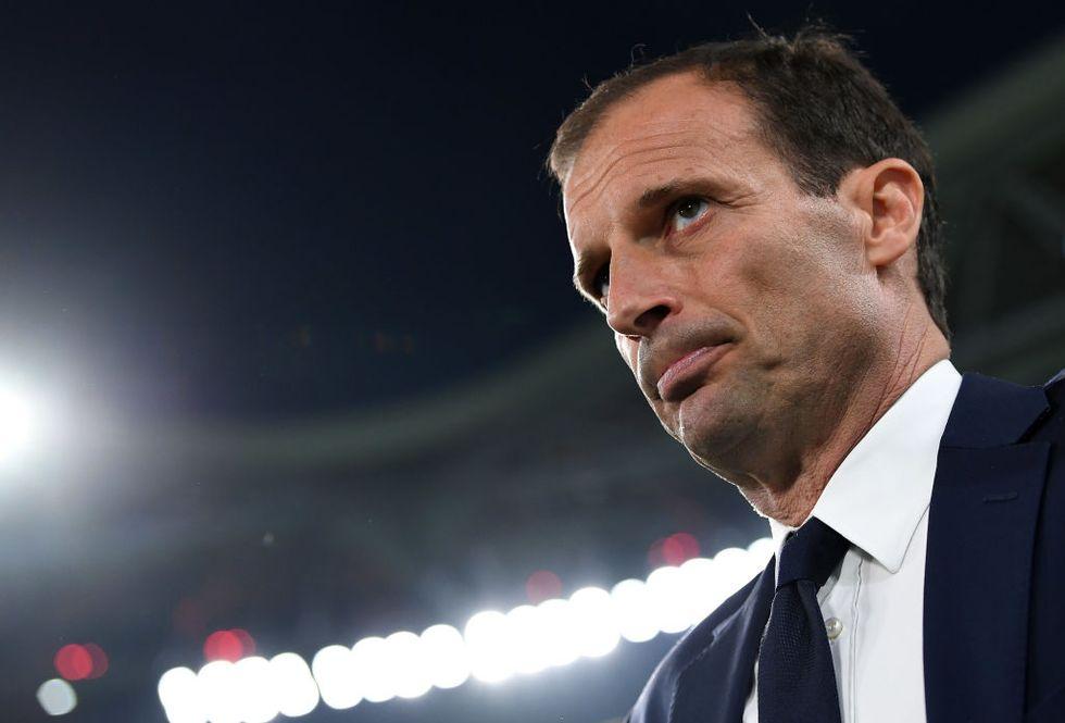 Allegri Juventus errori arbitrali
