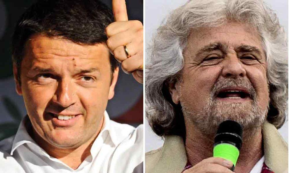 Renzi e Grillo, prove di dialogo