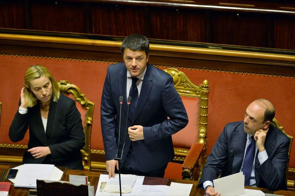 I dossier sul tavolo di Federica Mogherini