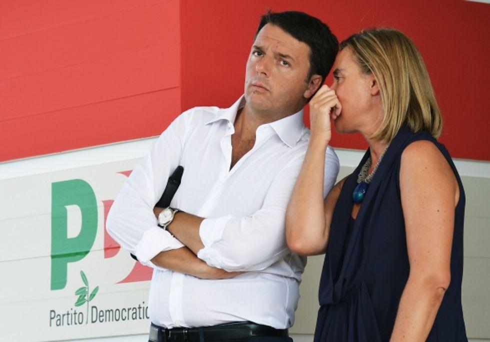 Renzi, i marò ed il boomerang della Mogherini
