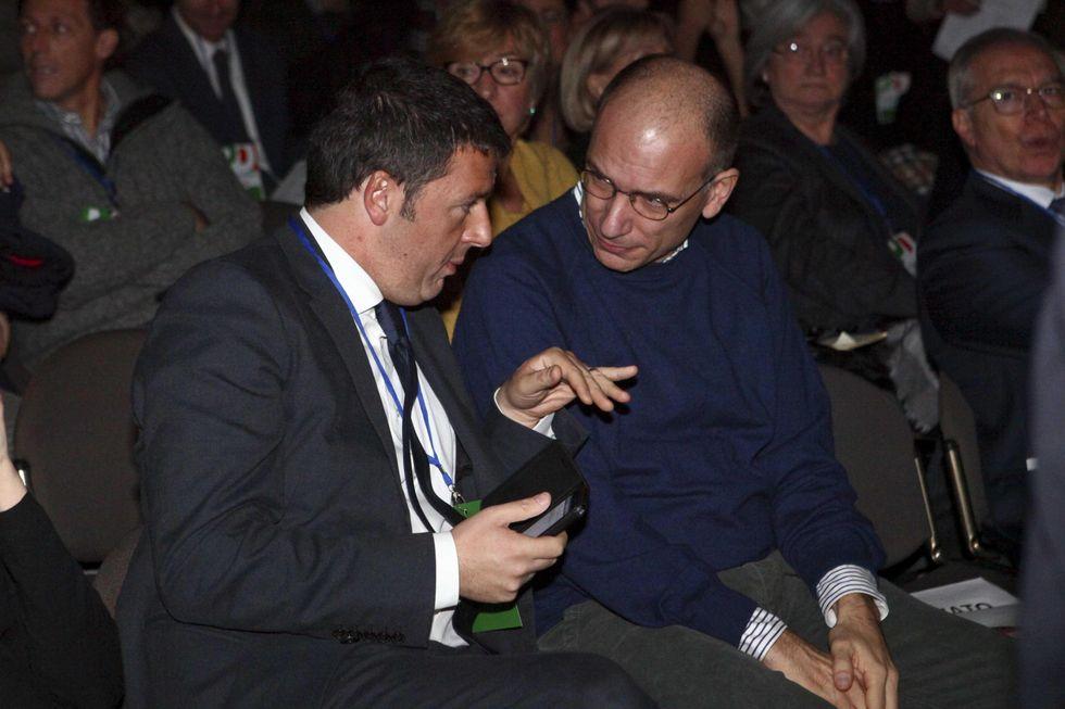 Dio (e Renzi) ci guardi dal bis di Letta