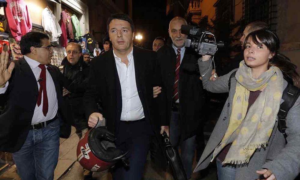 Renzi-Berlusconi: torna lo psicodramma a sinistra