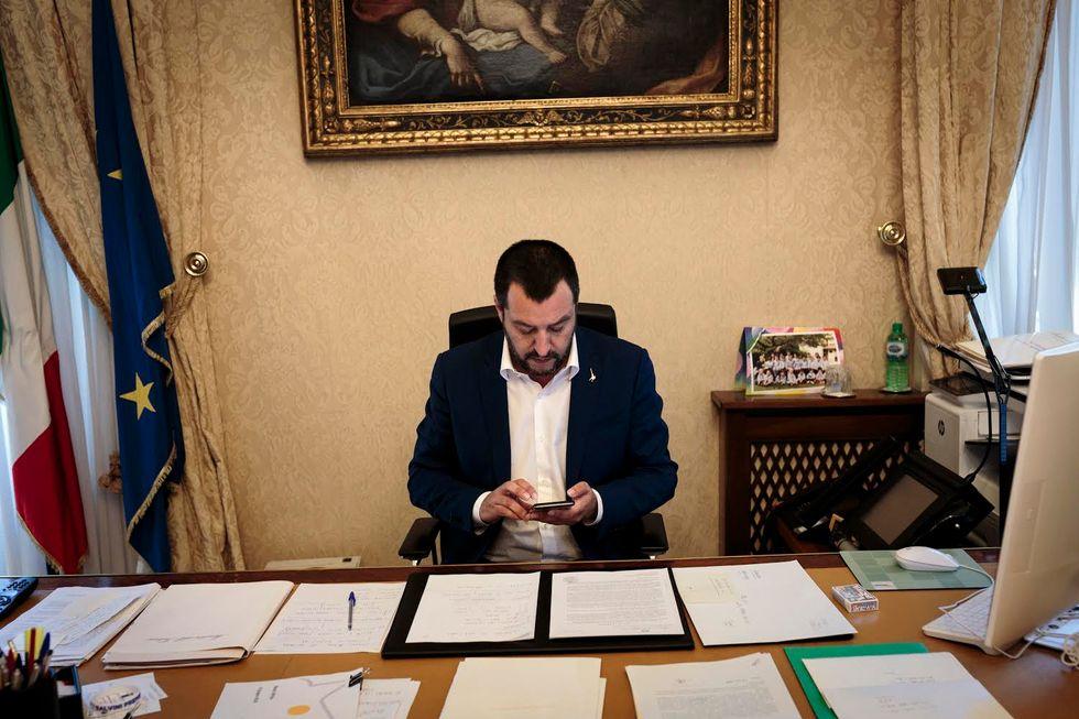 Matteo Salvini facebook diretta