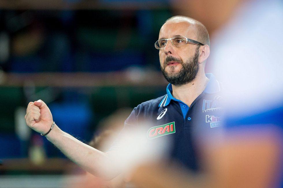 """Volley, coach Berruto: """"Ecco la mia nuova Italia"""""""