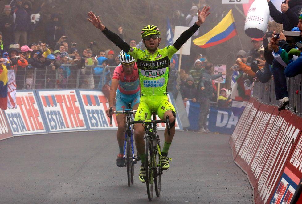 Santambrogio positivo ad un controllo antidoping al Giro