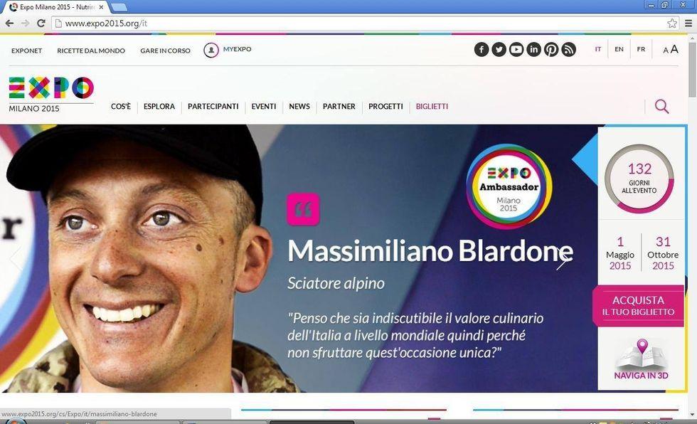 Il mio ruolo da Ambassador Expo Milano 2015