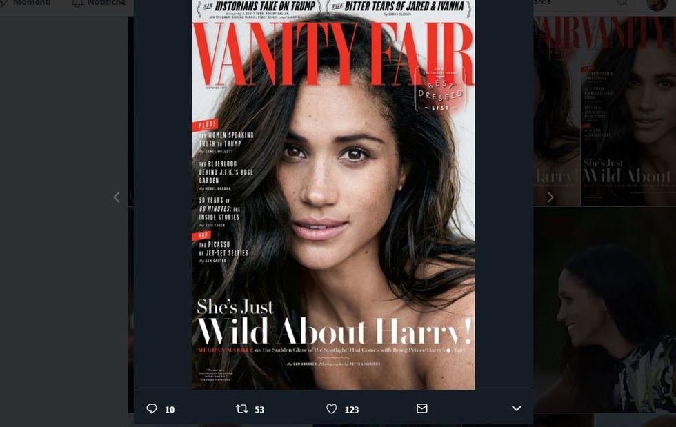 Meghan Markle per Vanity Fair
