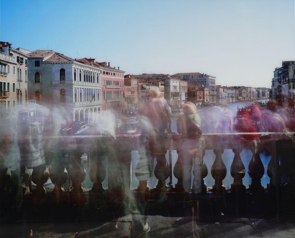 Michael Wesely, Ponte di Rialto, Venezia