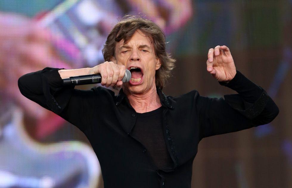 """Mick Jagger, il """"bisnonno"""" del rock"""