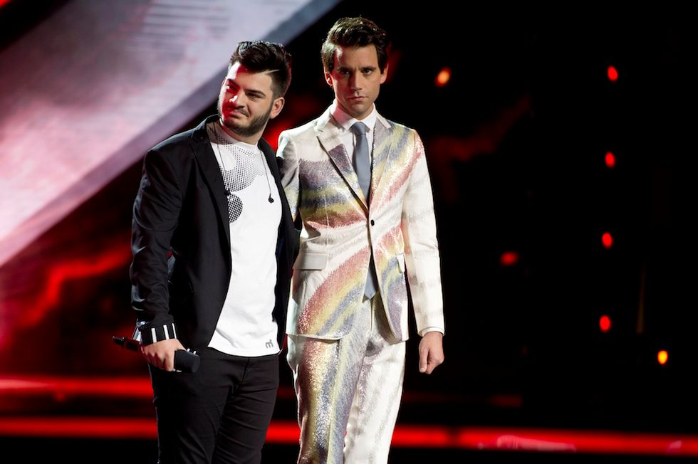 X Factor 9 Leonardo e Mika