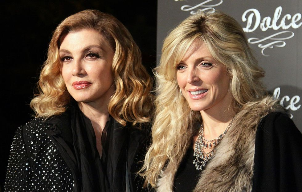 Milly Carlucci e Marla Maples