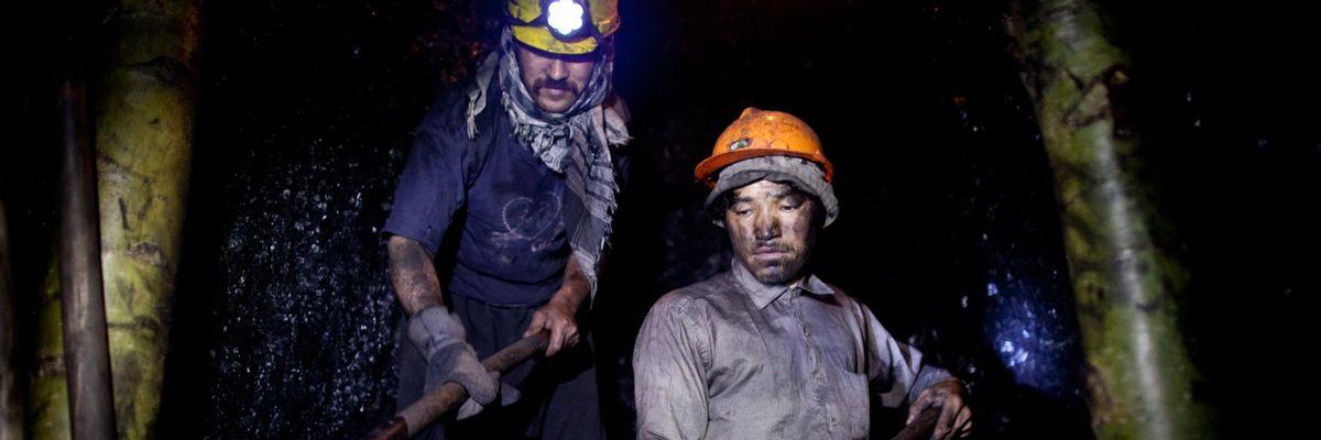 miniere afghanistan
