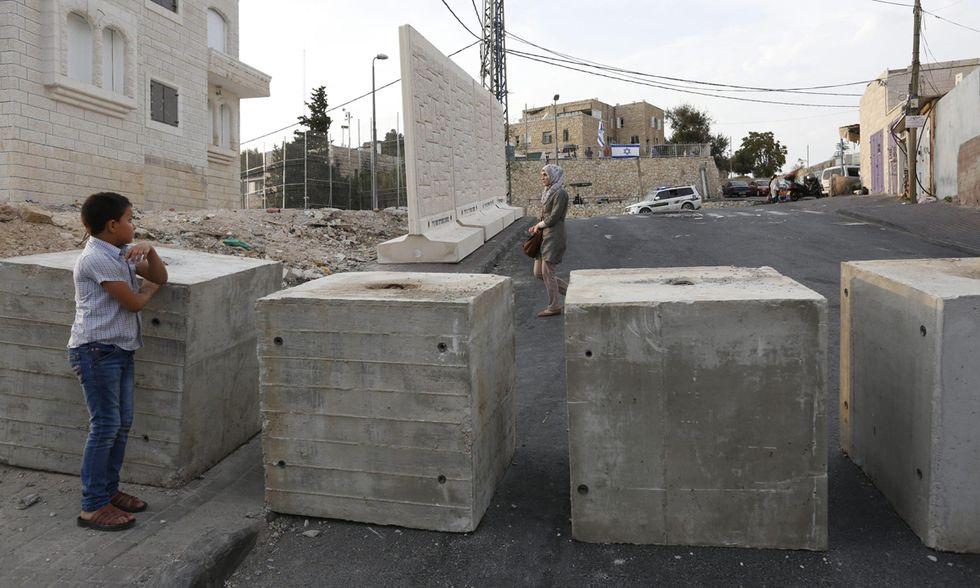 Muro temporaneo a Gerusalemme