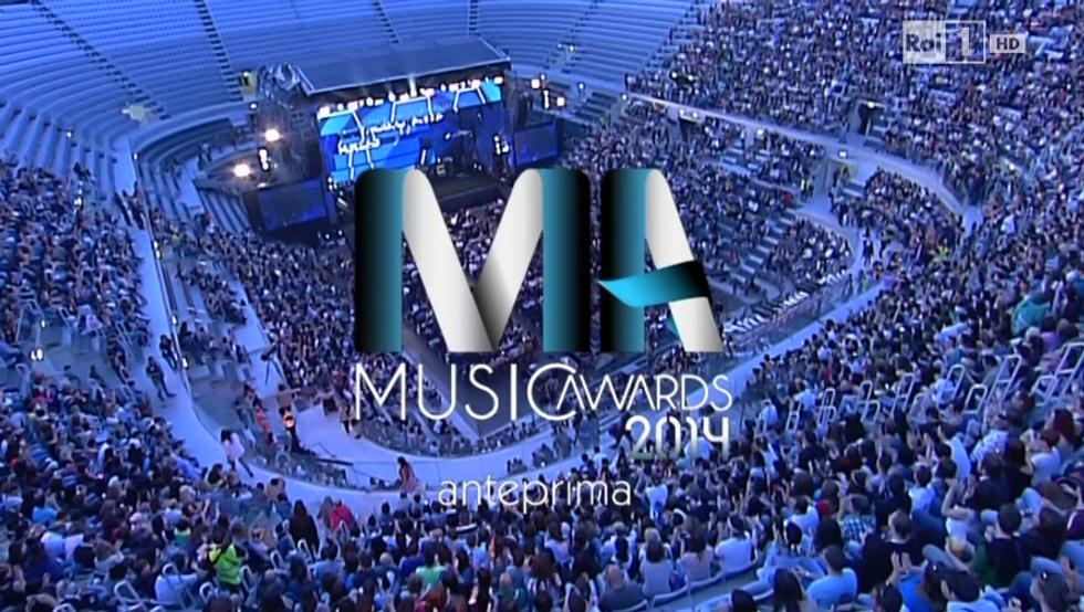 Music Awards 2014 su Raiuno: tutto il racconto