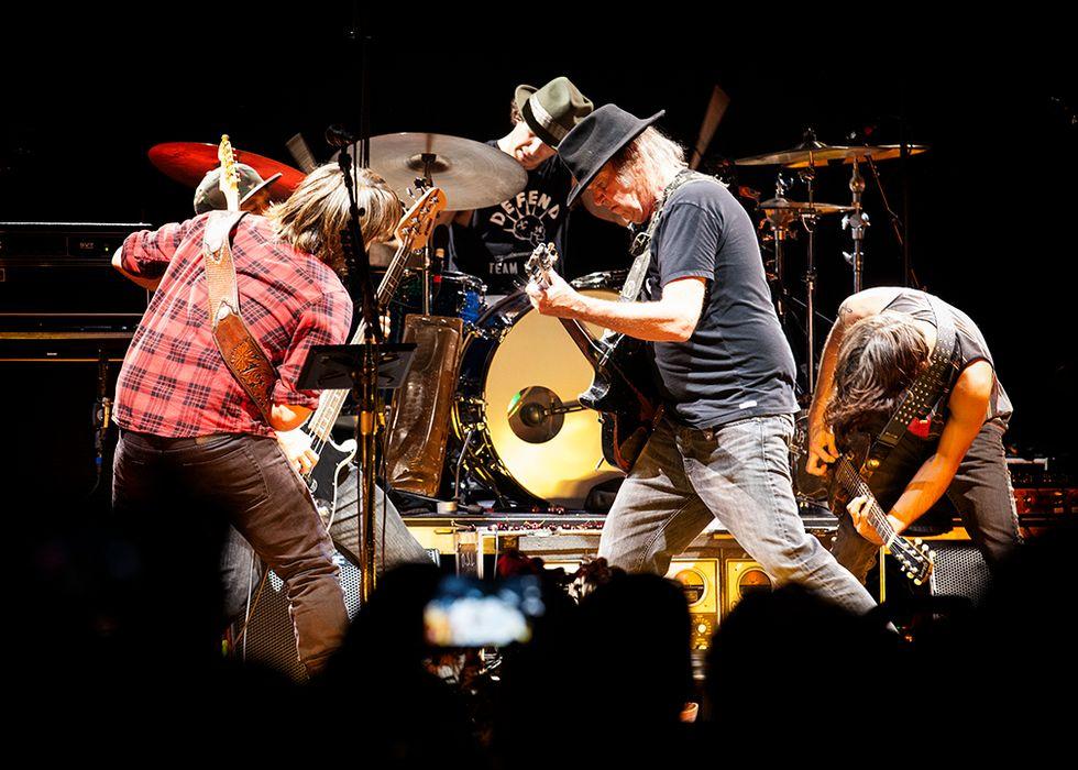 Neil Young incanta Roma - Recensione, scaletta e video di Caracalla