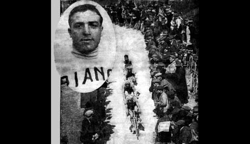Ugo Agostoni e quella Milano-Sanremo di 100 anni fa