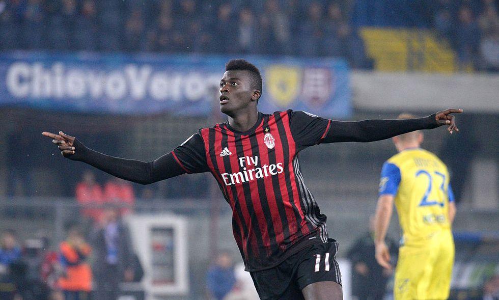 Niang Milan Montella Juventus