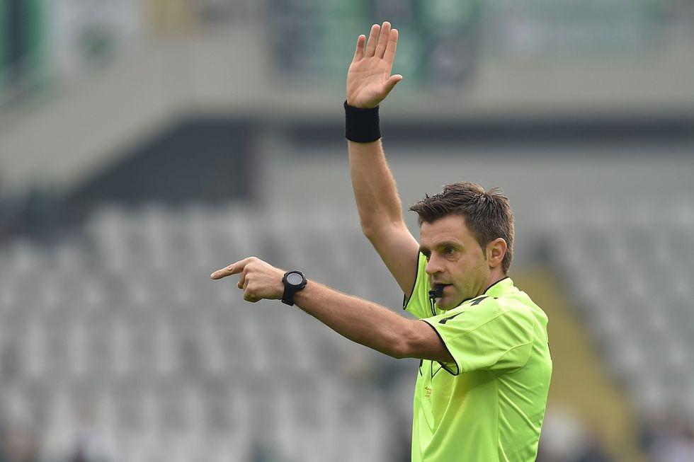 19a serie A, designazioni arbitrali: Rizzoli per Lazio - Napoli