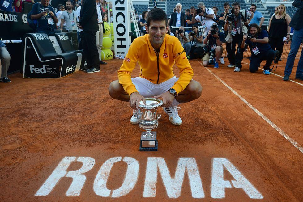 Roma: poker Djokovic e tris Sharapova in un Foro Italico troppo piccolo
