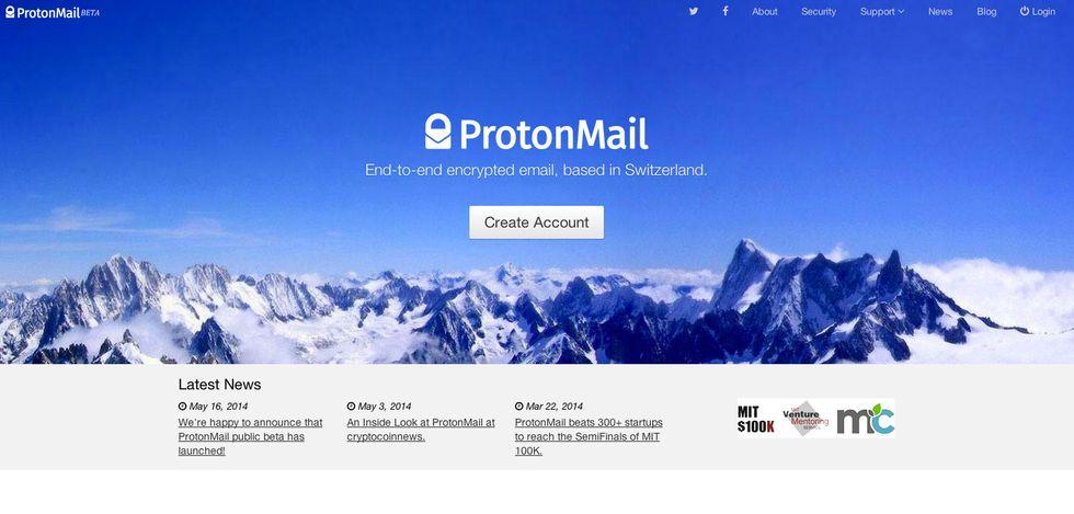 ProtonMail, la posta elettronica svizzera a prova di spia