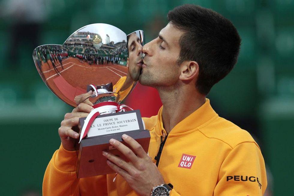 Tennis: Novak Djokovic re di Montecarlo