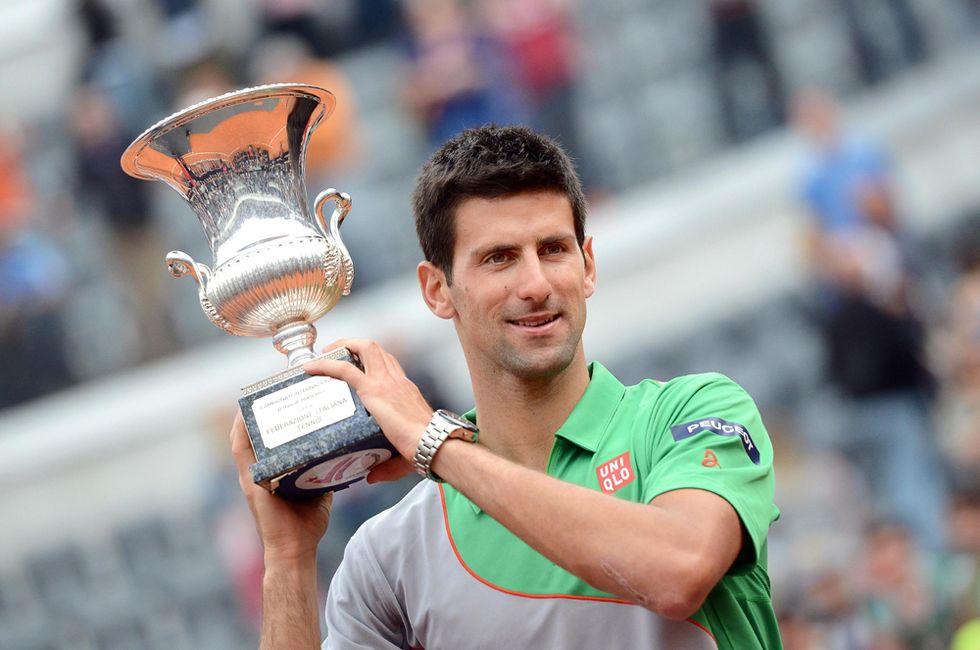 Tennis, Roma: per Djokovic una vittoria al miele