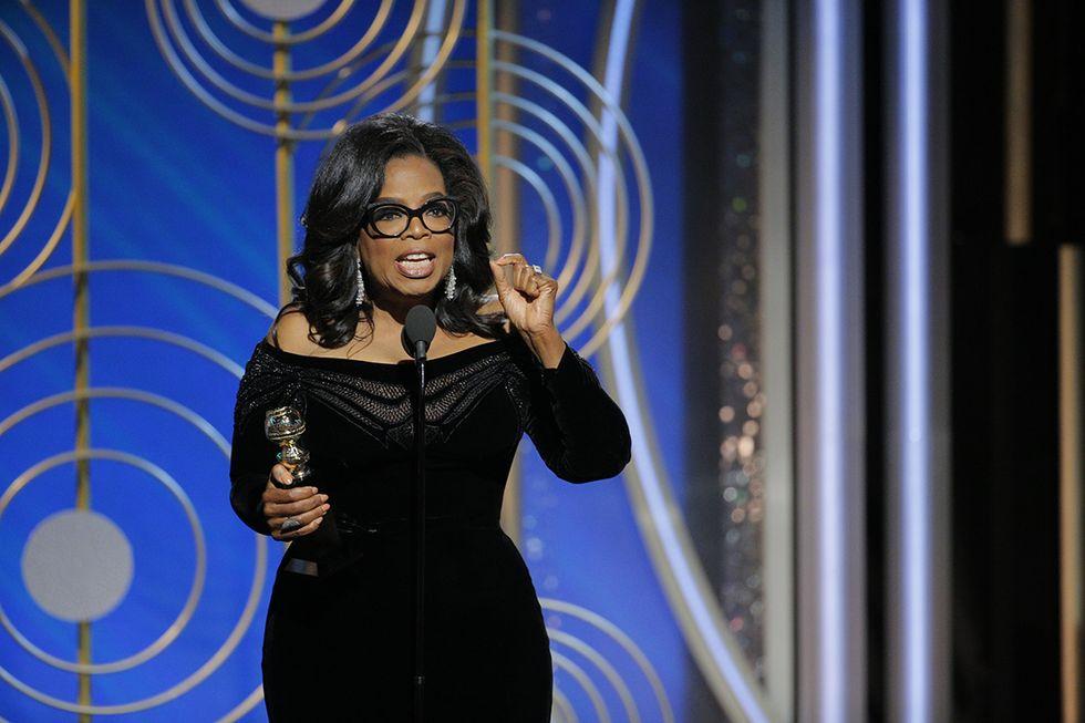 Oprah Winfrey premiata ai Golden Globe