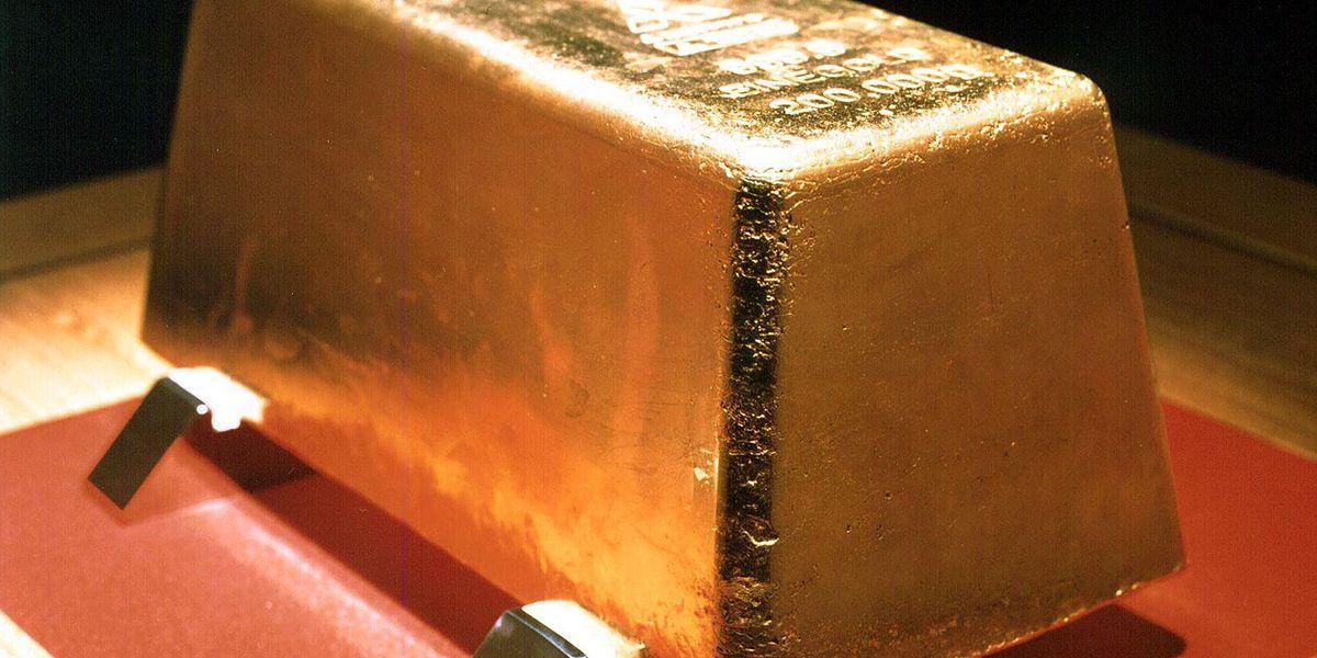 oro lingotto d'oro