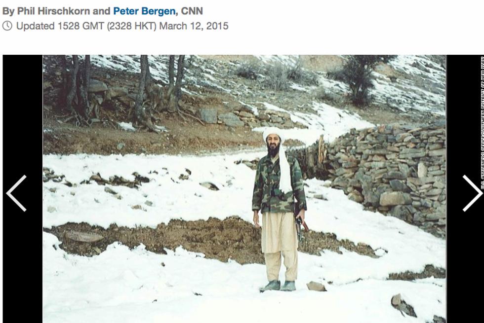 Osama bin Laden, le foto inedite nel rifugio in Afghanistan