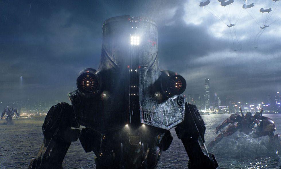Dvd in edicola con Panorama: Pacific Rim di Guillermo del Toro