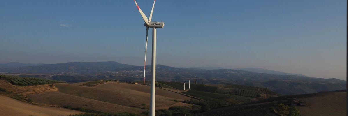 pala eolica energia green