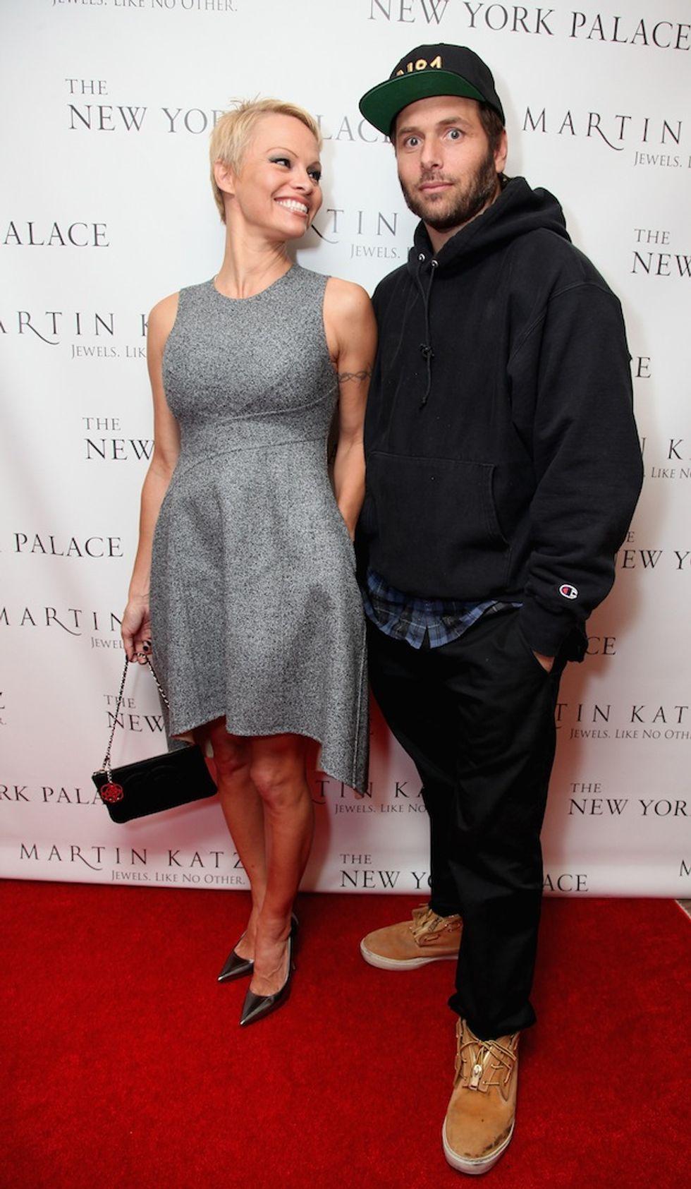 "Pamela Anderson: ""Non divorzio più"""