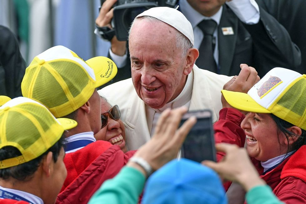 Il Papa in Colombia