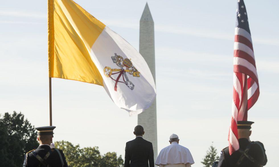 Papa Francesco alla Casa Bianca
