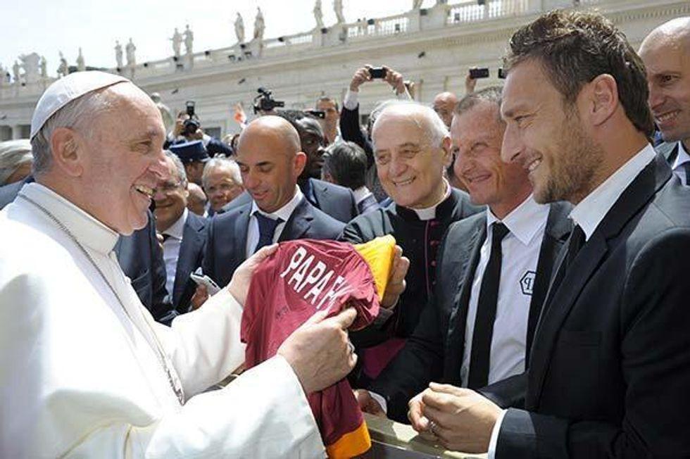 Italia e Argentina in campo il 14 agosto per il Papa